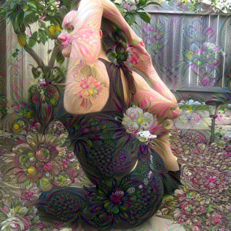 goal: use deepdream flowers Use a deep neural network trained to